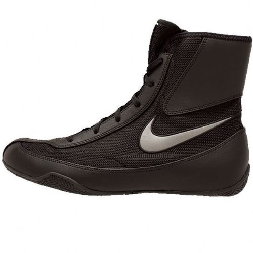 Nike Machomai V2 Boxing Boots - Black/Dark Grey